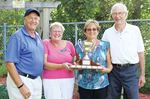 President's Day trophy awarded at Midland and District Lawn Bowling Club