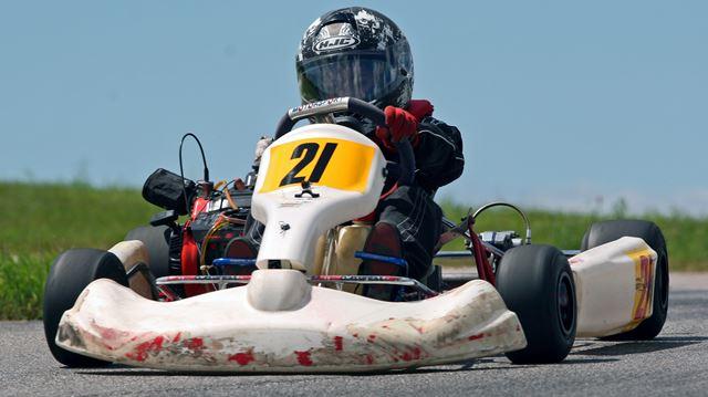 Oakville go-kart racer has Formula 1 dreams
