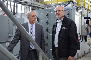 Energy Minister stops in Peterborough
