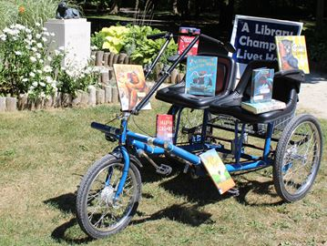 Where is the Meaford Library Book Bike?