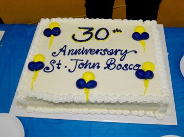 St. John Bosco Catholic School recently celebrated its 30th anniversary with a community barbecue, carnival games, entertainment and blessing.