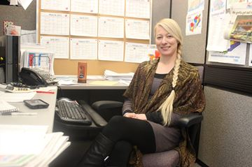 Kingston Heritage/Frontenac Gazette advertising sales manager Kate Lawrence