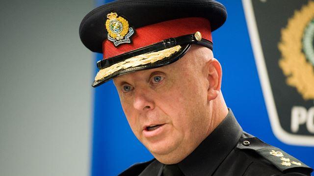 Halton Police Chief Steve Tanner