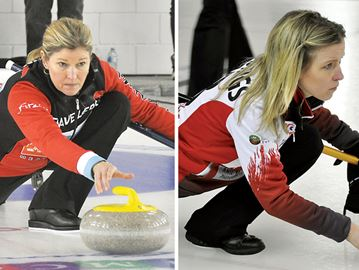 Sherry Middaugh, Julie Hastings on collision course at Ontario Scotties