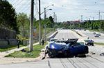 High-speed crash