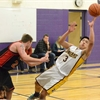 D10 sr. boys basketball Falcons vs. Spartans