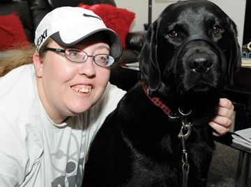 Guide dog lights up blind woman's life in Barrie