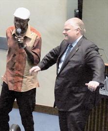 Mayor Ford Dances