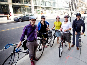 Dundas bike lane reopens