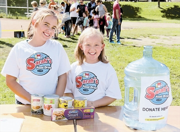 Sarah's 7th Annual Food Drive
