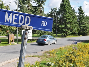 Speeders on Medd Road in Scugog