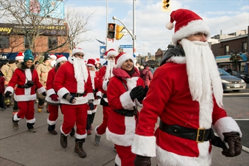 March of the Santas