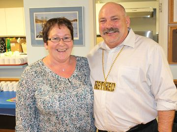 Meaford police officer Bob Sewell retiring