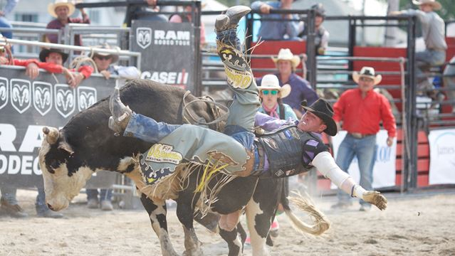 Horses, hats and bucking bovine rage: An afternoon at the Orono Rodeo-image1