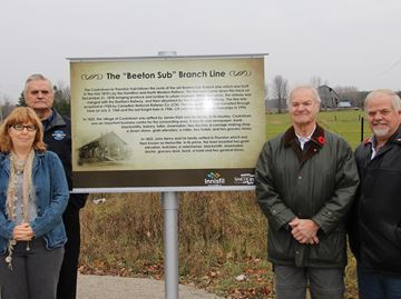 Innisfil marks the past with historical signs