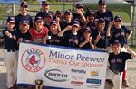 Barrie Red Sox Minor Peewee A team win title