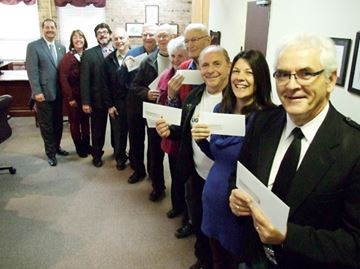 Orillia groups score city cash