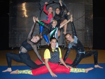 Zacada Circus School performers