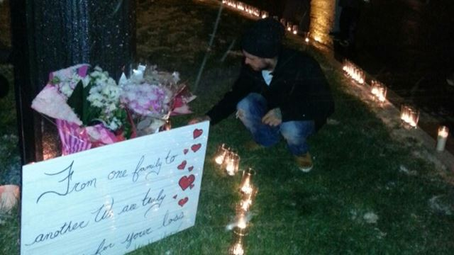 Driver in fatal crash visits memorial