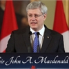Harper marks the 200th birthday of Canada's first PM