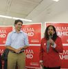 Salma Zahid and Justin Trudeau
