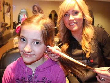 Wasaga girl donates hair to good cause