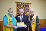 Stittsville Lion Jack Burke receives one of the highest awards in Lionism