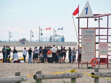 Missing swimmer presumed drowned