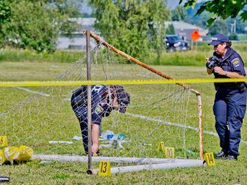 Soccer field fatality