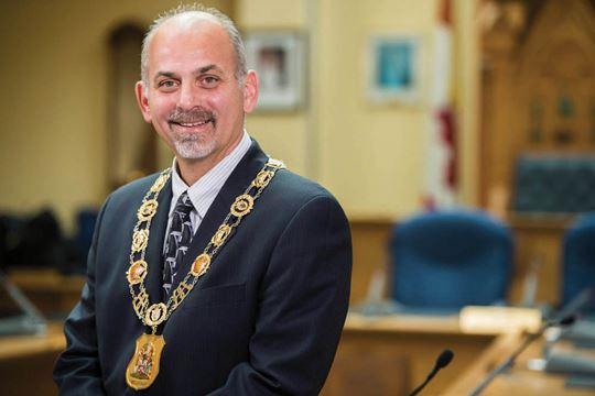 Belleville Mayor Taso Christopher