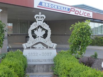 Brockville Police Service office