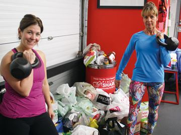 Kettlebells Niagara swings into action for Project SHARE