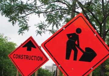 Winter over, construction begins; Lane closures on the east-end 417– Image 1