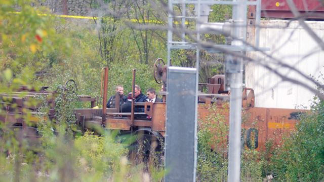 Train fatality beside Carruthers Rd.
