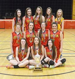 Brock junior girls vball champs