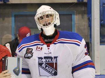 Mannella backstops Blades to 4-1 win over Patriots
