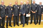 Midland firefighters honoured for years of service