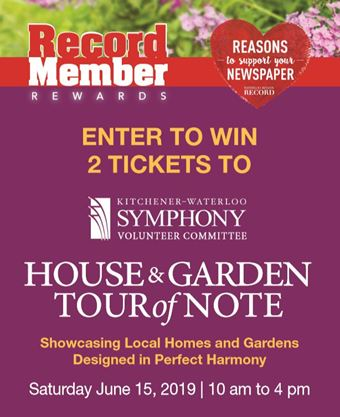 House and Garden Tour of Note Contest | TheRecord com