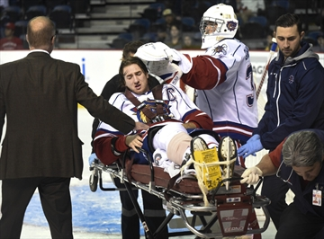 Justin Lemcke injury