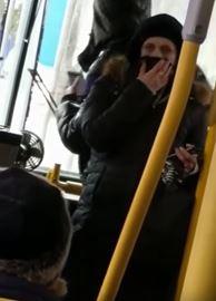 Bus confrontation