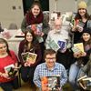John Kerr donates book shopping spree to Meaford high school library