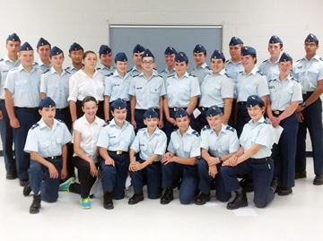 Midland air cadets gain new experiences