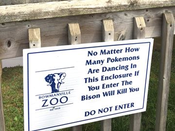 Pokemon warning