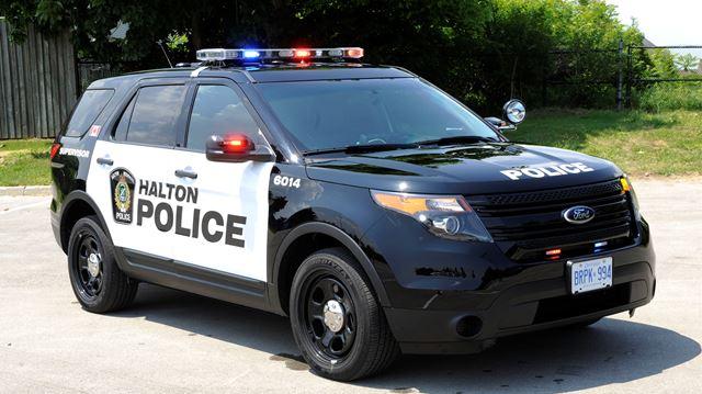 Halton police on scene