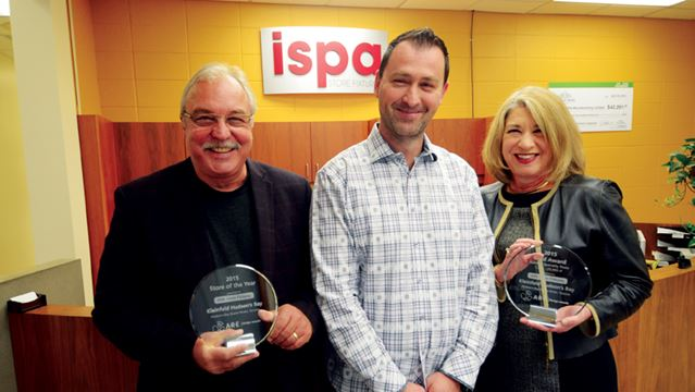 Receives awards for Toronto Hudson's Bay store design