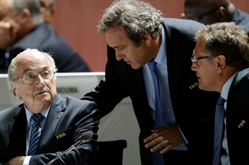 Blatter suspended as FIFA president; Platini also banned-Image1