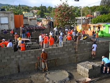 Barrie homebuilders pitch in to help Dominican children