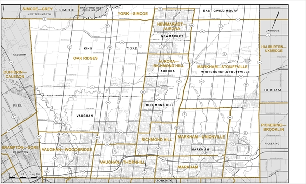 York MPs weigh in on proposed ridings