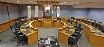 Niagara Falls city council chambers.