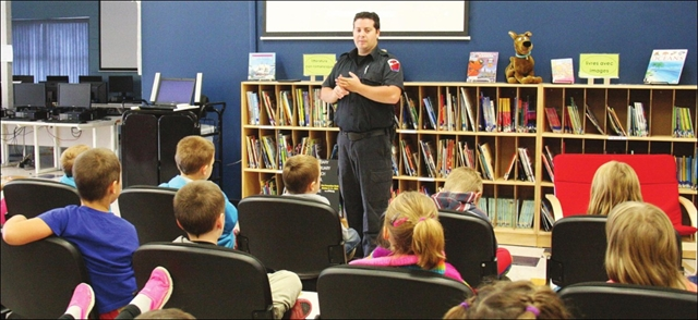 Caldwell students learn important lesson during Fire Prevention Week– Image 1